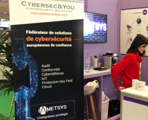 Cybersecandyou FIC2020 Stand Metsys
