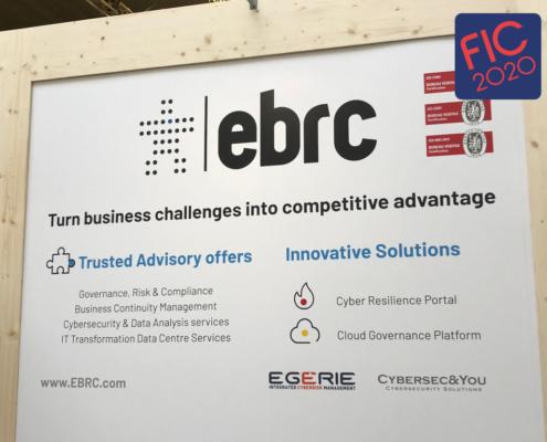 Cybersecandyou FIC2020 Stand eBRC