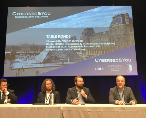 Cybersecandyou FIC2020 Table Ronde Cloud De Confiance Signature Contrat de filière industrie de sécurité